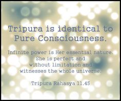 Tripura Rahasya 11.45  #yoga #advaita #vedanta #tantra