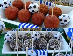 MKR Creations: Real Madrid Soccer Party Theme