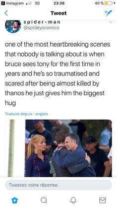 This is why Infinity War shots on Endgame in terms of story and character development. Retconning, gooey nostalgia and fanservice not many actually asked for isn't a good story, despite the hype and profit. Marvel Universe, Marvel Funny, Marvel Dc Comics, Marvel Avengers, Avengers Memes, Marvel Memes, Fangirl, Dc Memes, Bruce Banner