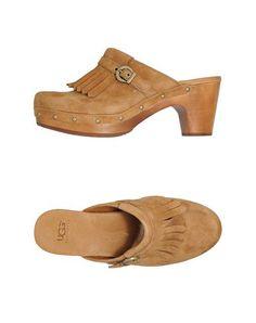 Ugg australia Mujer - Calzado - Zuecos Ugg australia en YOOX 07b662686bd2d