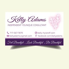 business cards younique choice image card design and card template