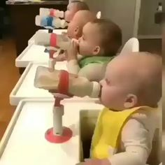 Is this a baby feeding factory? Is this a baby feeding factory? Cute Funny Babies, Cute Kids, Adorable Babies, Cute Baby Pictures, Baby Photos, Cute Little Baby, Baby Love, Kids Workbench, Baby Cheeks