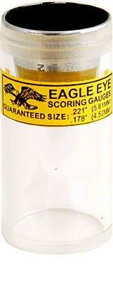 Eagle Eye Scoring Gauge 22/177 Cal::Targets & Scoring Aids::Bullseye Gear