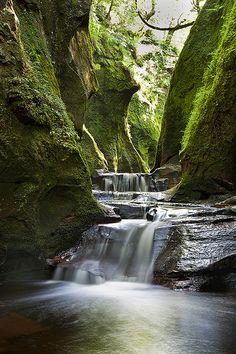 Finnich Gorge, Scotland