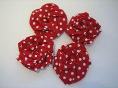 How To Make Fold & Twist Fabric Flowers