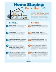 Home Staging Do And Dont's Easy Read #StLouismo #Realtors #realestate #stl #staging