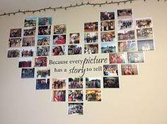 resultado de imagen para decoracion con fotos collage arbol