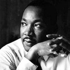 Martin Luther King, Jr. (January 15, 1929 – April 4, 1968)