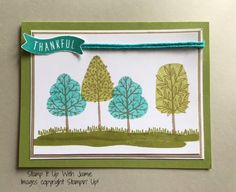 Totally Trees - Stamp It Up With Jaimie