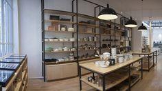 La Trésorerie - Concept store 11 rue du château d'eau – 75010 Paris Peclers Paris, Grand Bazar, Address Books, Retail Concepts, Commerce, City Lights, Innovation, Hardware, Shelves