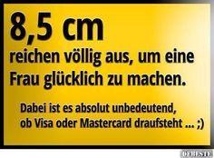 8,5 cm reichen völlig aus..   DEBESTE.de, Lustige Bilder, Sprüche, Witze und Videos