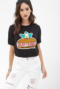Krusty Burger Sweatshirt Top   FOREVER21 - 2000118711