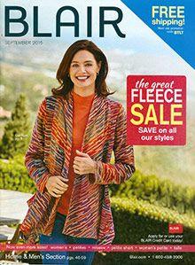 Blair clothing from the Blair catalog & Bargain clothes shopping
