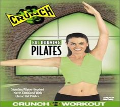 Pilates Fitness (DVD) Crunch Fat Burning Work Out Videos Weight Loss Home Gym