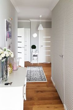 Dom w bodziszkach Interior Inspiration, New Homes, Home And Garden, Room Decor, Kids Rugs, House Design, Flooring, House Styles, Ideas