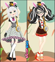 Ever After High Bunny Blanc Dress Up Game  : http://www.starsue.net/game/Bunny-Blanc-Dress-Up.html Have Fun! ♥-♥