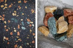 Marmoreal, Max Lamb's marble terrazzo collection for Dzek