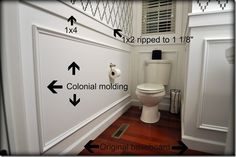 Tips for installing moldings