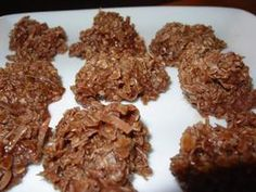 No Bake Cookies - made with Splenda