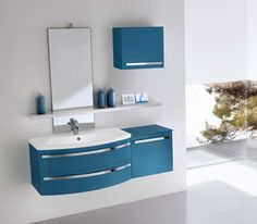 Mobile bagno sospeso design moderno n.43