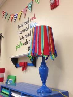 """Dr. Seuss classroom theme from """"Tangled with Teaching"""" (click link). Comes with adorable FREEBIES (like printing balloon """"cards"""" on funky straws for giving for birthdays)"""