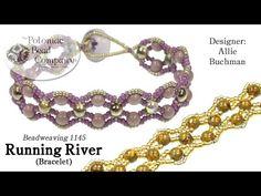 (3) Running River Bracelet (Tutorial) - YouTube