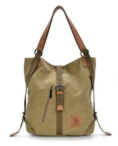 48102b8e7e5e Casual Canvas Multi-functional Handbag Shoulder Bag. Сумки Хобо · Модные  Сумки · Кожаные Сумки ...