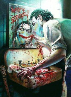 Sick Joker art