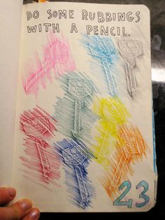 wreck this journal ideas poke holes - Google Search