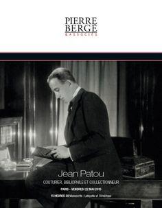 JEAN PATOU couturier, bibliophile et collectionneur