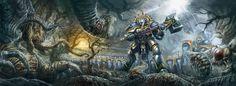 Age of Sigmar Artwork | Stormcast Eternals #artwork #art #aos #warhammer #ageofsigmar #sigmar #arts #artworks #gw #gamesworkshop #wellofeternity #wargaming