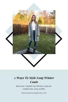 Long Grey Coat, Long Winter Coats, Black Heel Boots, Black Tights, Cosy Outfit, White Jumper, Winter Walk, 2 Way, Winter Looks