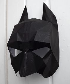 This is the second prototype of the Batman mask freebie.