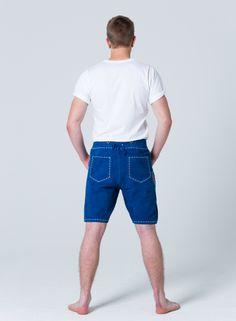 Devilskins Lederhose Blue - Super Soft Wild Buck Leather #blaue_Lederhose #Lederhose #Devilskins #moderne_lederhose #Herren_Lederhose