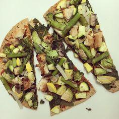 fitness & fro-yo: Green Goddess Pizza