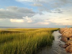 Paine's Creek at #Sunset, Brewster, Cape Cod