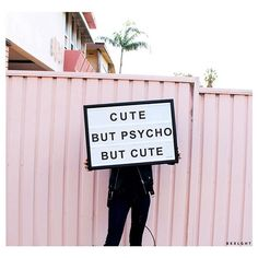 """Cute, but psycho, but cute!  #bxxlght #lightbox                                                                                                                                                      More"