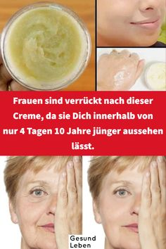 Women are crazy about this cream because they keep you .- Frauen sind verrückt nach dieser Creme, da sie Dich innerhalb von nur 4 Tagen 10 Jahre jünger ausseh – Pinmode Women are crazy about this cream because it looks 10 years younger in just 4 days - Beauty Tips For Face, Beauty Box, Diy Beauty, Beauty Hacks, Homemade Beauty, Beauty Care, Face Tips, Beauty Guide, Face Beauty