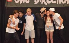 One direction meet and greet greet the fans pinterest 1d just another picture of them with pretty fans at meet and greets m4hsunfo
