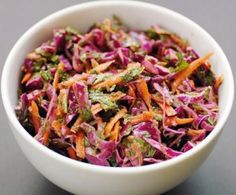 Thai-Style Spicy Cabbage Slaw With Mint And Cilantro Recipes ...