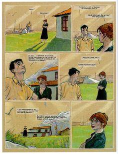 Trait de craie de Miguelanxo Prado chez Casterman, première édition en août 1993, 82 pages