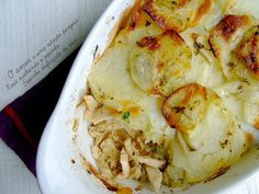 Chicken and Cabbage Sprouts with Baked Potatoes Baked Cabbage, Cabbage And Potatoes, Chicken And Cabbage, Chicken Potatoes, Sliced Potatoes, Baked Potatoes, Baked Potato Recipes, Dessert Spoons, Chicken Seasoning