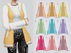 Kalewa-a: Pastel Sweater • Sims 4 Downloads