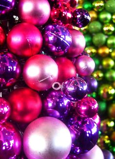 Christmas balls for everybody by Darwin Bell, via Flickr