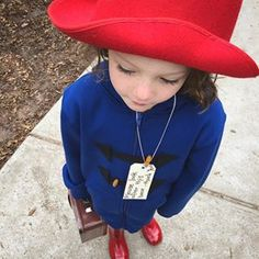 This perfect Paddington Bear. | 24 Parents Who Are Totally Nailing Book Week Costumes