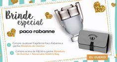 Ganhe Miniatura de Invictus + Necessaire Toiletry Bag nas compras acima de R$299 na Sepha #cuponamao  http://cuponamao.blogspot.com.br/2016/10/sepha-brinde-especial-paco-rabanne.html