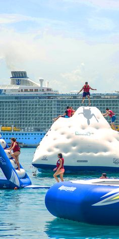 Labadee, Haiti   Life is your waterpark when you venture to this private Royal Caribbean destination, where you'll find both ocean and shoreside activities for all ages.
