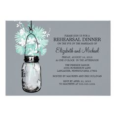 This DealsRehearsal Dinner Mason Jar Wildflowers Personalized InvitationThis site is will advise you where to buy