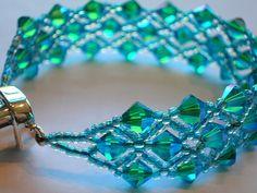 Swarovski 6mm Crystal Bracelet | I made this bracelet to mat… | Flickr