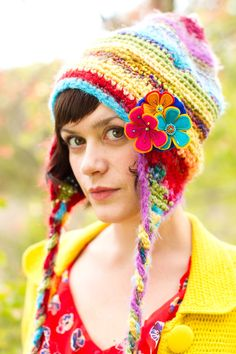 Design Your own Whimsy Gnome Slouchy Hat You choose colors by QuartzRoots on Etsy https://www.etsy.com/listing/116280831/design-your-own-whimsy-gnome-slouchy-hat
